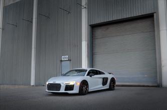 High Res Desktop Wallpaper 2017 Audi R8 Suzuka Grey