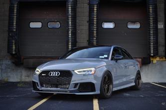 High Res Desktop Wallpaper 2018 Audi RS3 Nardo Grey
