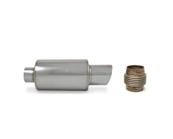 Stainless Steel Exhaust Mufflers, Cats & Flex Sections