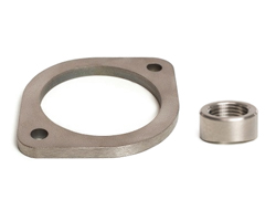 Titanium Flanges, V-Band Clamps & Bungs