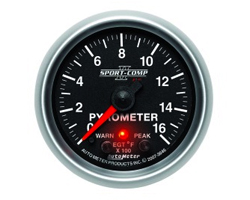 Sport Comp II Gauges