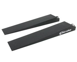 Lightweight, Low Profile Racing Ramps Perfect for the Trailer