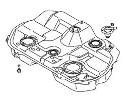 Evo 7/8/9 Fuel Tank & Pump