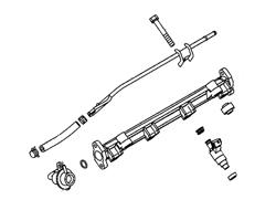 Evo 7/8/9 Injectors & Rail