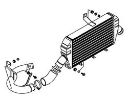 Evo 7/8/9 Intercooler & Piping