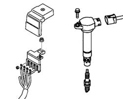 Evo X OEM Battery & Ignition