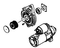 Evo X OEM Alternator & Starter