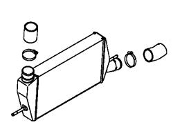 Evo X OEM Intake & Intercooler