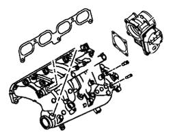 Evo X OEM Manifold & Throttle Body