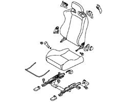 Evo X Seats & Carpets