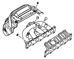 Evo X OEM Exhaust Manifold
