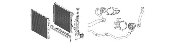 2020 Supra OEM Cooling System Diagram