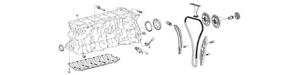 2020 Supra OEM Engine Parts