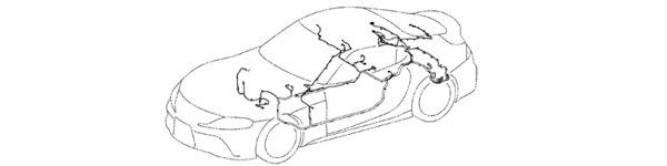 2020 Supra OEM Wiring Harness Diagram