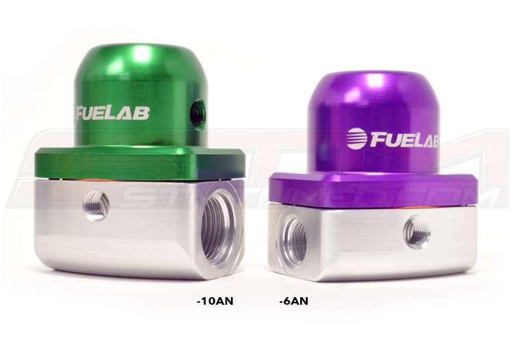 Difference between 10AN and 6AN Fuel Pressure Regulators
