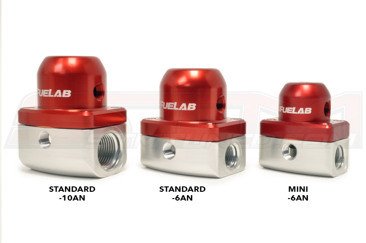 Difference between 10AN, 6AN and the mini Fuel Pressure Regulators
