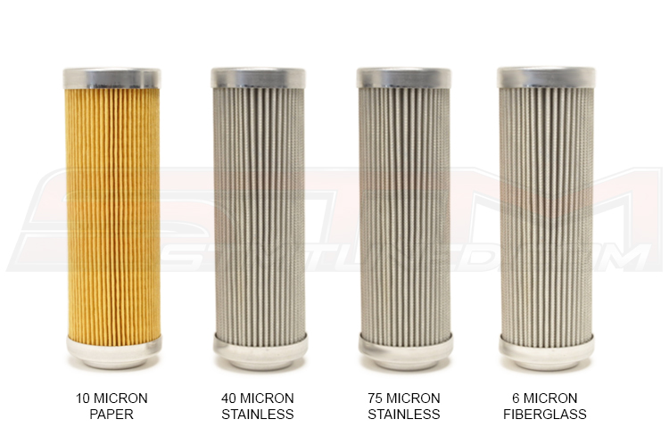Fuelab Replacement Fuel Filter Elements (For 828 5