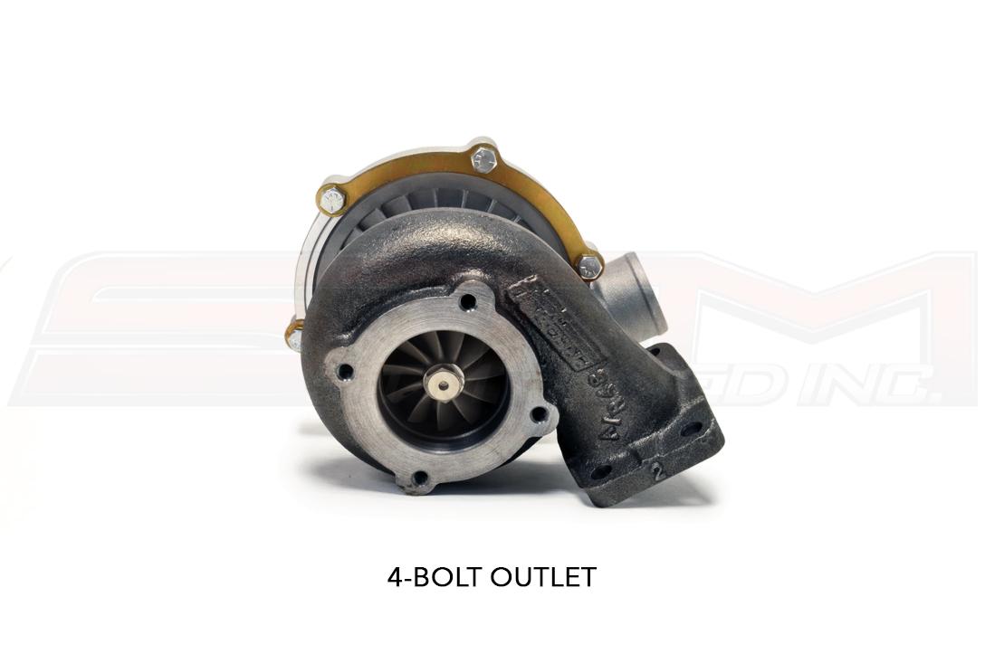 PTE Turbo Outlet 4-Bolt