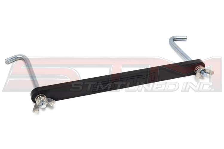 STM Evo X Small Battery Black Tie Down Kit
