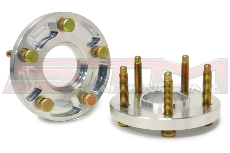 STM 5x114.3 20mm Wheel Spacers & ARP Extended Studs Package for Evo, DSM & 3000GT